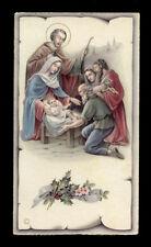 """santino-holy card """"ediz.NB serie P 2576 NATIVITA'"""