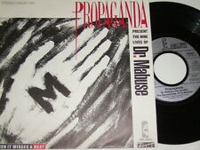 "7"" - Propaganda Dr.Mabuse & Dr.Mabuse Der Spieler - 1984 # 2895"