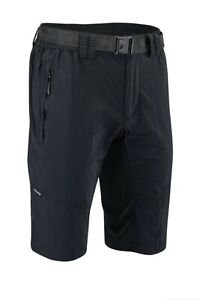 Silvini Men's RANGO Mountain Bike Cycling Shorts XL MP1616 Black Loose Fit