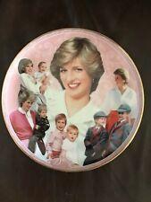 Diana-Royal Motherhood Plate By Danbury Mint