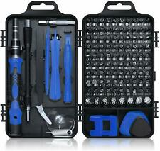 Screwdriver Set 115 in 1, Mini Precision Screwdriver Set with Case -Blue