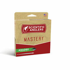 SCIENTIFIC ANGLERS MASTERY ANADRO WF-6-F 6 WT STEELHEAD SALMON FLOATING FLY LINE