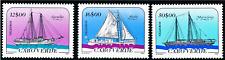 Cabo Verde - 1987 - Sailboats