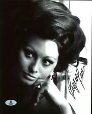 Sophia Loren Sexy Authentic Signed 8X10 Photo Autographed BAS #B03988