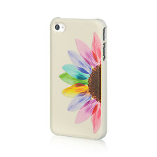 For Apple iPhone 4 4S HARD Protector Case Snap On Phone Cover Sunrise Sunflower