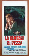 LA BAMBOLA DI PEZZA locandina poster Horror 1966 T25