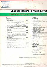 CHAPPELL LIBRARY.COLIN TOWNS.PASTORAL/ROMANTIC.ORIG UK LP.EX