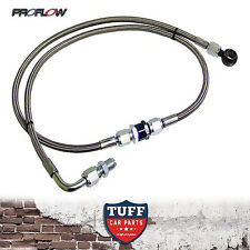 BA BF Ford Falcon XR6 Turbo Proflow Braided Oil Feed Line & Filter FPV F6 New