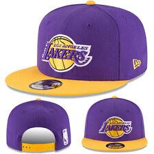 New Era NBA Los Angeles Lakers Snapback Hat Hardwood Classic 2Tone Color Cap e83070a8d468