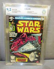 STAR WARS #46 (White Pages) CBCS 9.2 NM- shape Marvel Comics 1981 cgc