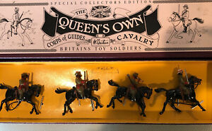 Britains: Boxed Set 8835 -Guides Cavalry, c1900. 54mm Metal Model