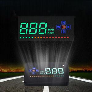 "3.5"" GPS Speedometer HUD Digital Head Up Display Car Trucks Speed Warning UK"
