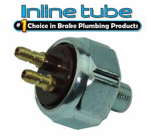 Chevy Ford Chrysler Brake Line Tube Tee Light Pressure Switch Street Hot Rod