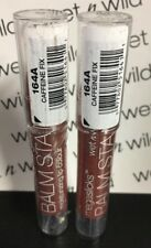 2 Wet n Wild MegaSlicks Balm Stain Moisturizing Lip Color 164A Caffeine Fix