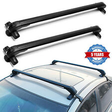 Universal Roof Rack Anti-Theft Suitable for 4 or 5 Door Cars Without Rail 43''