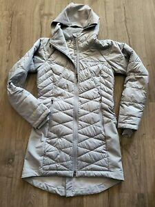 New Columbia Heavenly Long Hybrid Hooded Jacket Women's Large