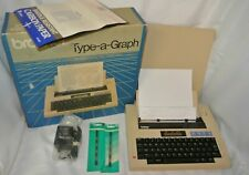 Brother Type-A-Graph Typewriter BP-30 Vintage Portable AC 5-D Batteries *WORKS*