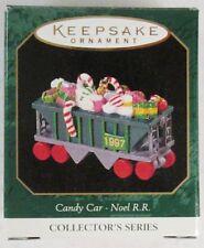 1997 Noel RR: Candy Car 9th in Series (Hallmark Keepsake Miniature Ornament)