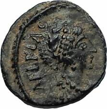 AELIA FLACILLA Theodosius I Wife 383AD Ancient Roman Coin VICTORY CHI-RHO i67496