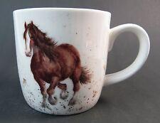 """Royal Worcester Horse Mug """"Gigi""""  Draught Horse Fine Bone China Wrendale Boxed"""