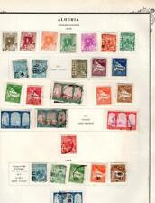 1¢ WONDER ~ ALGERIA FRENCH COLONY M&U ON PAGES ALL SHOWN ~ W398