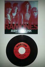 Ramones Judy is a Punk 7 inch single RSD New Record Store Day 2016