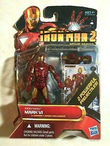 Marvel Iron Man 2 Movie Series Mark VI Action Figure Hasbro 2010