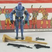 Original 2002 GI JOE Cobra COMMANDER V13 ARAH not Complete UNBROKEN figure