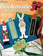Needlecraft Shop BOOKMARKS FOR ALL OCCASIONS PLASTIC CANVAS Patterns BOOK New
