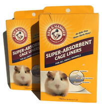 Arm & Hammer Super Absorbent Cage Liners For Small Animals 14 Count Total