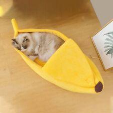 Banana Shape Pet Dog Cat Sleeping Bed House Puppy Cushion Sofa