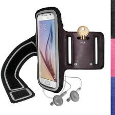 Fascia da braccio Per Samsung Galaxy S6 con velcro con controlli accessibili per cellulari e palmari