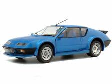 Voitures de sport miniatures bleus Renault