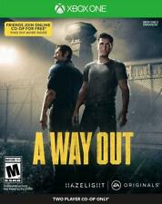A Way Out (Xbox One, 2018) Brand New
