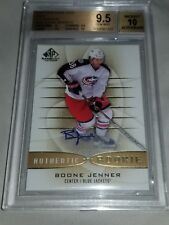 2013-14 SP Game Used #108 Boone Jenner Rookie Auto BGS 9.5 Gem Mint