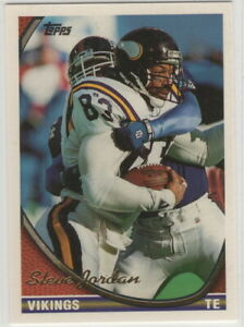 1994 Topps Minnesota Vikings football team set