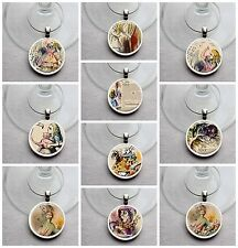 Set of 10 Alice in Wonderland Style Themed Wine Charms, Birthday Wedding Party