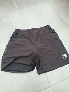 Mens Karrimor Running Shorts Black Size Large