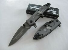 Gray Assisted Opening Knife EXTREMA RATIO MF2 Stainless Steel Tactical Saber