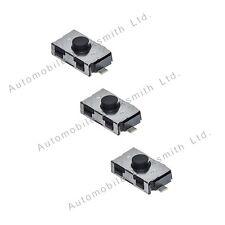3 Tactile Micro Switches for BMW 1 3 5 7 X3 X5 Z4 E38 E39 E46 Series Remote Key