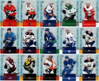 2019-20 UD TIM HORTONS CLEAR CUT PHENOMS COMPLETE 15 INSERT CARD SET LOT Mcdavid