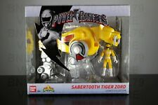 SABERTOOTH TIGER ZORD & Yellow Ranger Power Rangers Legacy Collection MMPR 2018