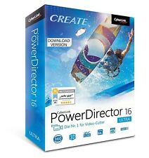 CYBERLINK PowerDirector 16 Ultra Videobearbeitung & -produktion  Online Download
