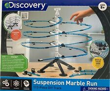 Discovery Suspension Marble Run 113 PIECE DIY TRACK New Open Box, Unopened Parts