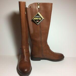 NWOB Clark's Women's Mint Treat GTC Riding Boot Size 6.5M Dark Tan
