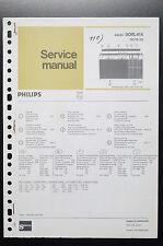 PHILIPS RADIO 90rl414 ORIGINAL MANUEL DE SERVICE/manuelle/AMPLIFICATEUR ! O34