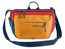 eagle creek Wayfinder Crossbody Bag Umhängetasche Tasche Sahara Yellow Blau Neu