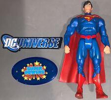 "DC Universe Classics Unlimited New 52 Superman 6"" Figure & SP Stand Lot"
