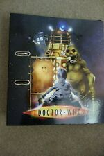 Ultra Rare Doctor Who Battle in Time Binder and Cards Set
