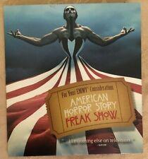 2015 AMERICAN HORROR STORY FREAK SHOW EVAN PETERS KATHY BATES FX EMMY DVD PROMO